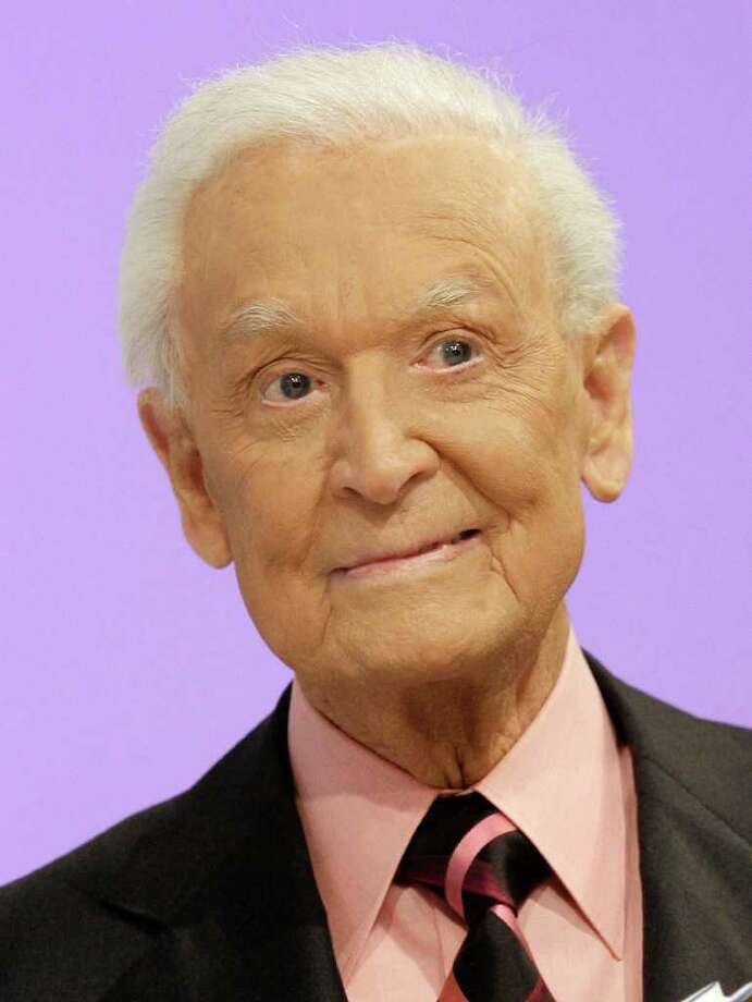 """FILE - In this March 25, 2009 file photo, TV game show icon Bob Barker from """"The Price is Right"""" is shown during an appearance at the CBS Studio Center in Los Angeles. Barker donated $230,000 last month to expand the 200-acre habitat Chimp Haven in Keithville, La., to make room for five chimps from a Texas research laboratory that went bankrupt.  (AP Photo/Damian Dovarganes, file) Photo: Damian Dovarganes"""