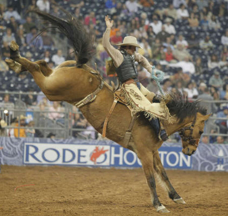 With more than $1.5 million up for grabs in the Super Series, there's still plenty of reason to accept an invite to RodeoHouston. Photo: Melissa Phillip, Chronicle