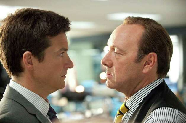 HB-12292  (L-r) JASON BATEMAN as Nick and KEVIN SPACEY as Dave Harken in New Line Cinemaís comedy ìHORRIBLE BOSSES,î a Warner Bros. Pictures release. Photo: John P. Johnson / 2011 New Line Productions Inc.