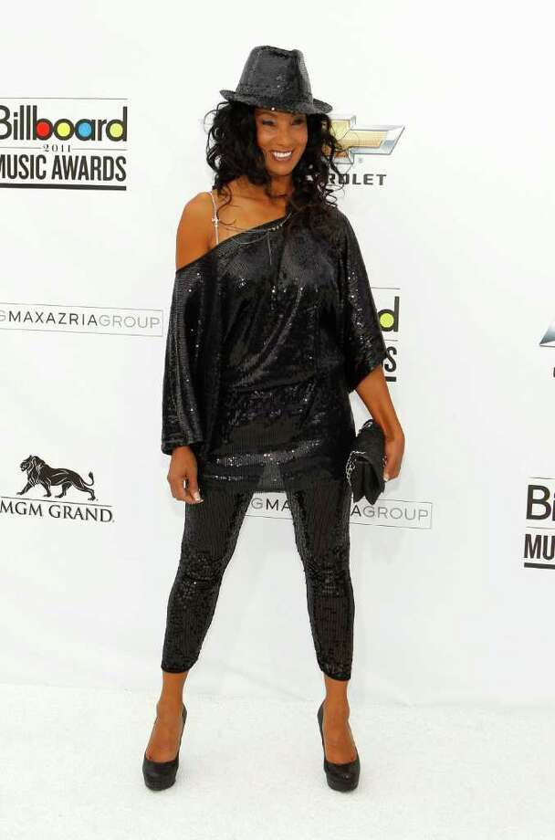"""Downtown Julie Brown: Brown, an English import, was the host of the dance show """"Club MTV"""" from 1985-1992, gaining fame with her catchphrase, """"Wubba wubba wubba."""" After the show was canceled, Brown went on to several roles in B-movies and appeared in Playboy in 1998. She married Martin Schuermann in 2001 and lives in California with her husband and daughter, Gianna Schuermann. Photo: Isaac Brekken, Getty Images / 2011 Getty Images"""
