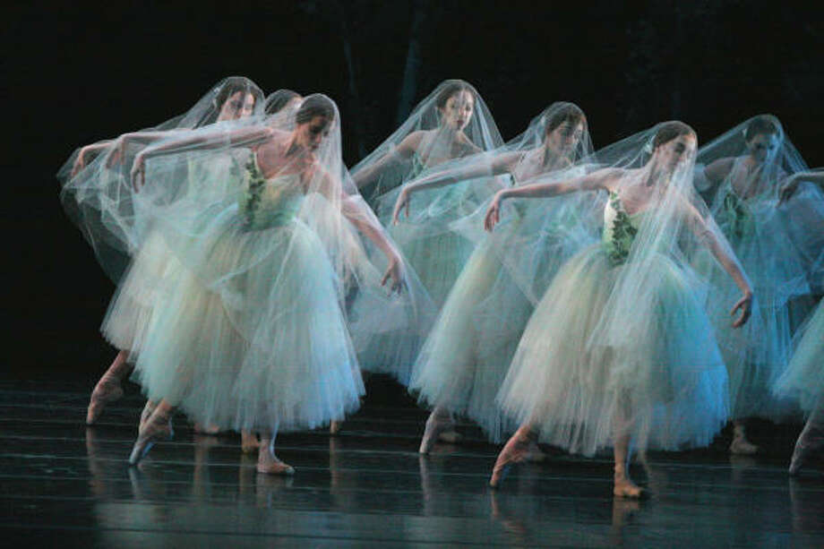 Ai-Gul Gaisina, who's become a frequent coach to Houston Ballet's women, will stage a new version of Giselle Sept. 22-Oct. 1. Photo: AMITAVA SARKAR, ALL