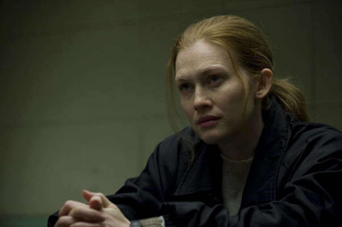 Mireille Enos, who grew up in Sugar Land, stars as Sarah Linden in The Killing.