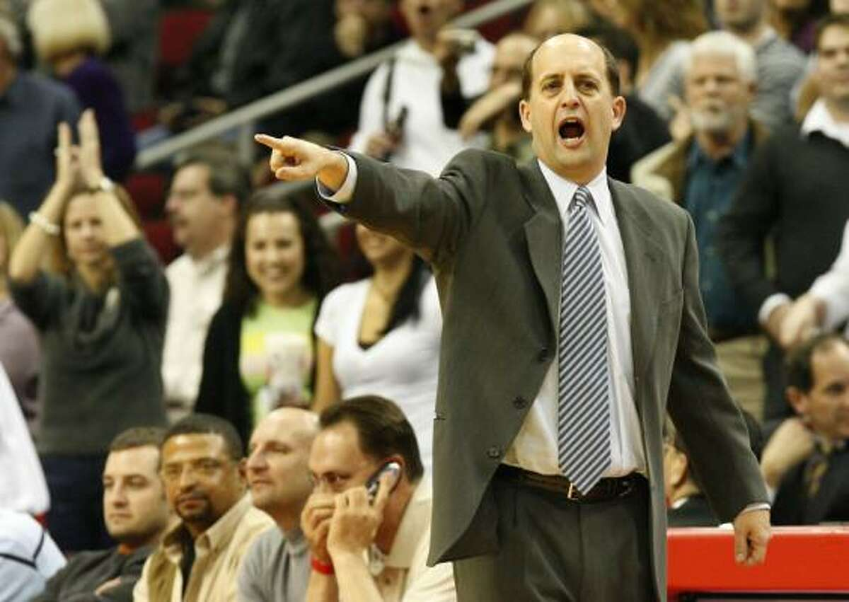Former Rockets head coach Jeff Van Gundy now works as a commentator with ESPN and lives in Houston.