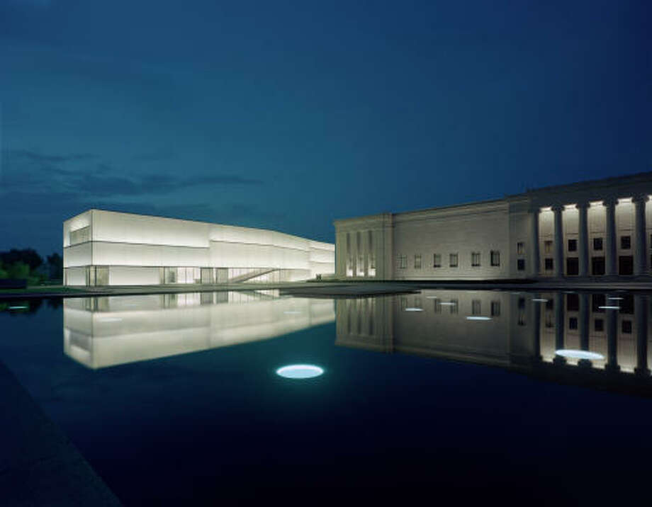 Those offering designs include Steven Holl Architects, who designed the Nelson-Atkins Museum of Art's critically acclaimed building, left, in Kansas City, Mo. Photo: Timothy Hursley, Nelson-Atkins Museum Of Art