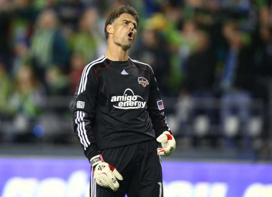 Former Dynamo goalkeeper Pat Onstad came out of retirement to become a player-coach with D.C. United. Photo: Joshua Trujillo, SEATTLEPI.COM