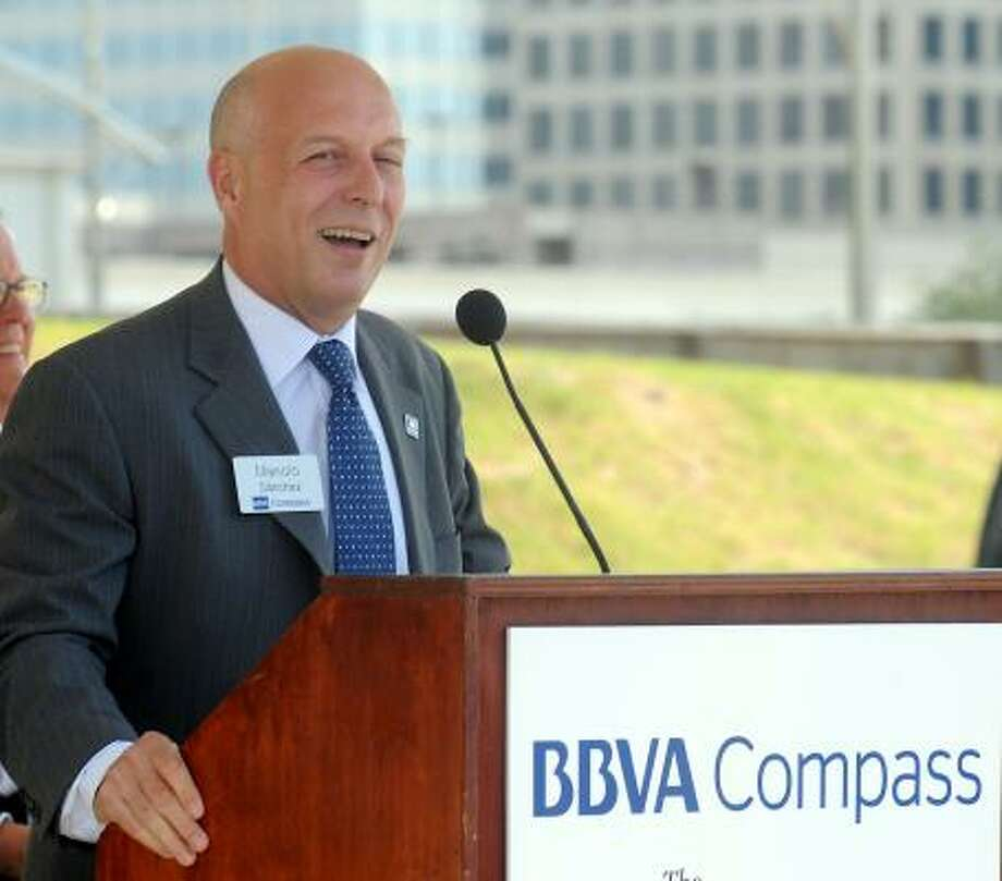 Manolo Sánchez, president and CEO of BBVA Compass, says the tower will be a flagship location. Photo: Dave Rossman :, For The Chronicle
