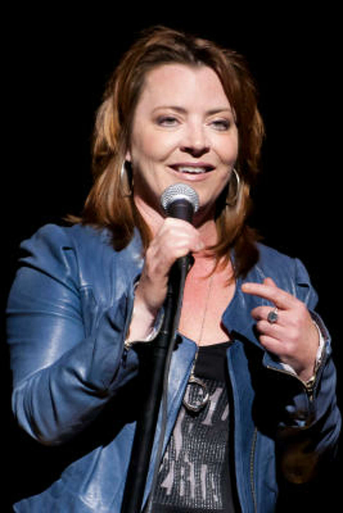 Comedian Kathleen Madigan stays busy with TV appearances, touring and USO performances.
