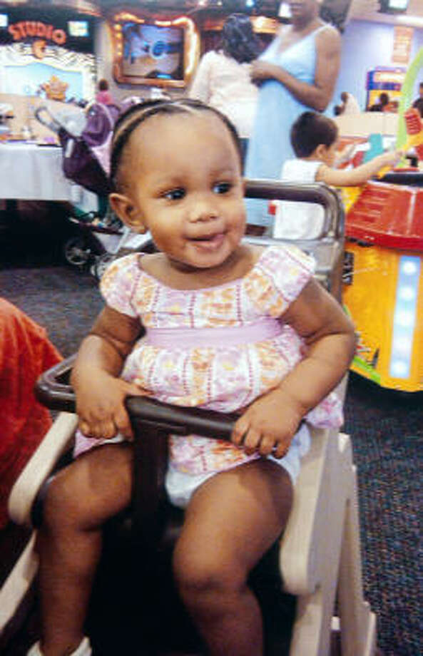 Kendyll Stradford, 20 months old, was one of three children who died after the day-care fire. Photo: Family Photo
