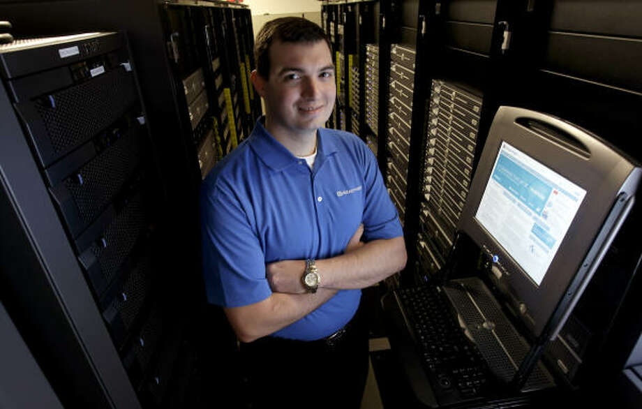 Brian McKee is a manager and a solutions architect for Attachmate, which recently designated Houston as its headquarters. It has about 300 workers here. Photo: Karen Warren, Houston Chronicle
