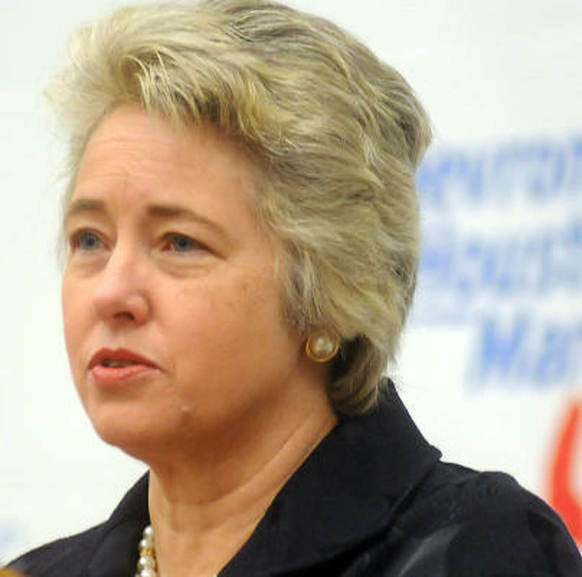 Mayor Annise Parker wants more authority to negotiate on pensions.