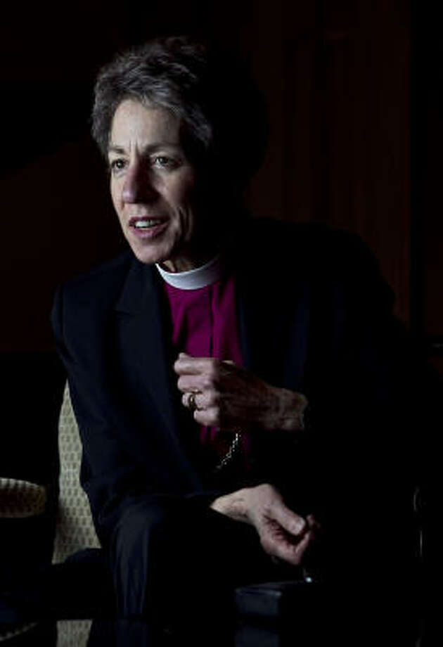 The Most Rev. Katharine Jefferts Schori has been the Episcopal Church's presiding bishop since 2006. Photo: James Nielsen, Chronicle