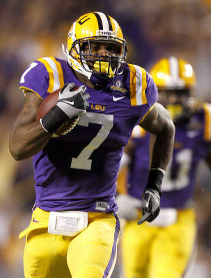 LSU cornerback Patrick Peterson is a top prospect in the upcoming NFL draft. Photo: Sean Gardner, AP
