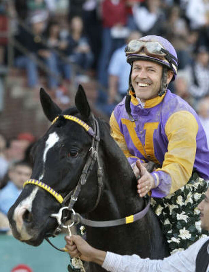 50-year-old jockey Jon Court will run his first Kentucky Derby on May 7. Photo: Danny Johnston, AP