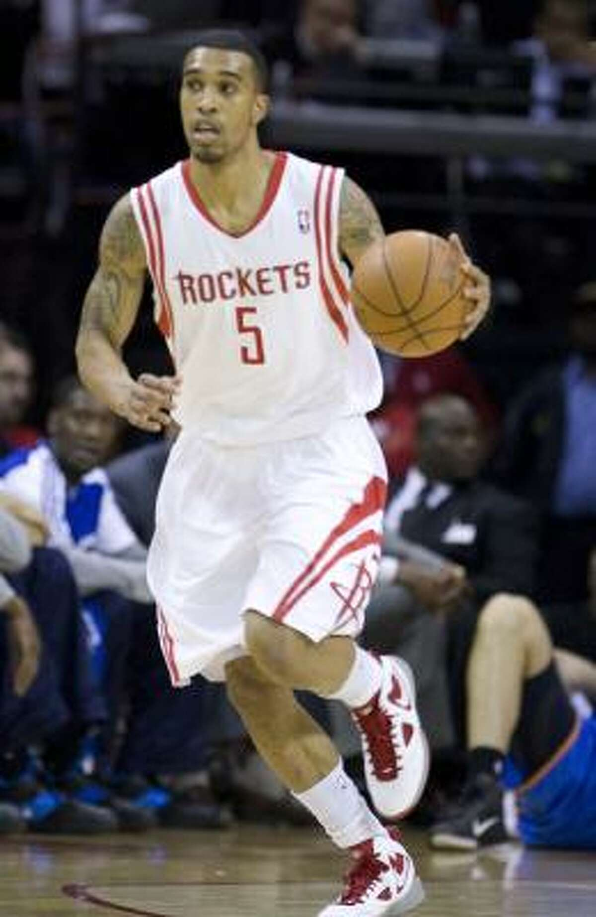 Rockets guard Courtney Lee missed Monday's practice with flu-like symptoms.