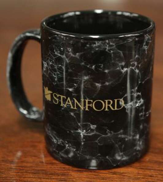 A Stanford coffee mug from an earlier auction.