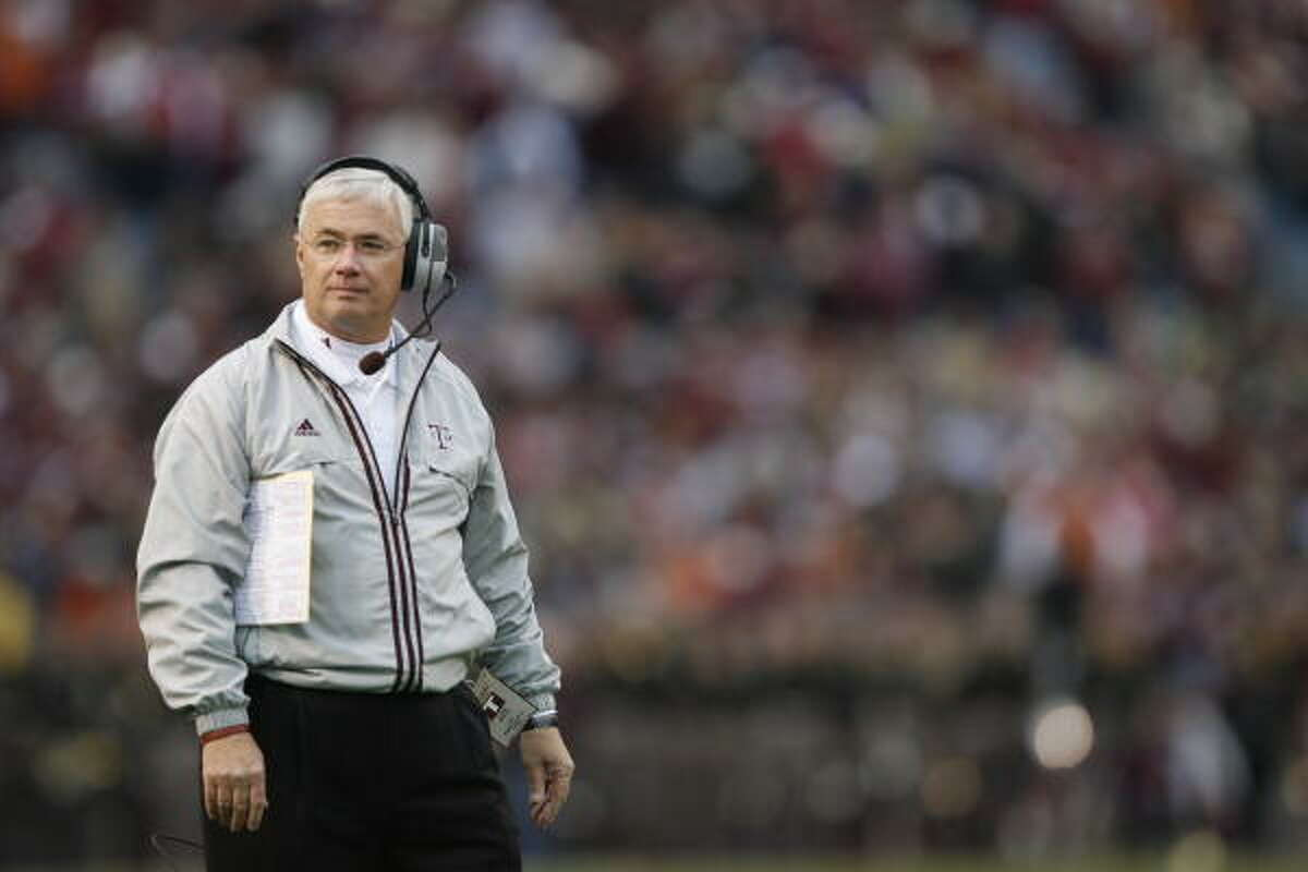 Dennis Franchione has sat out three years since his forced departure from Texas A&M.