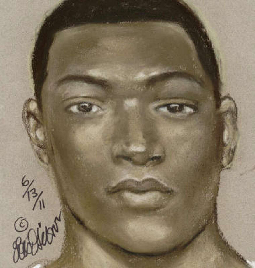 Houston police have released this sketch in the homicide case. Photo: HPD