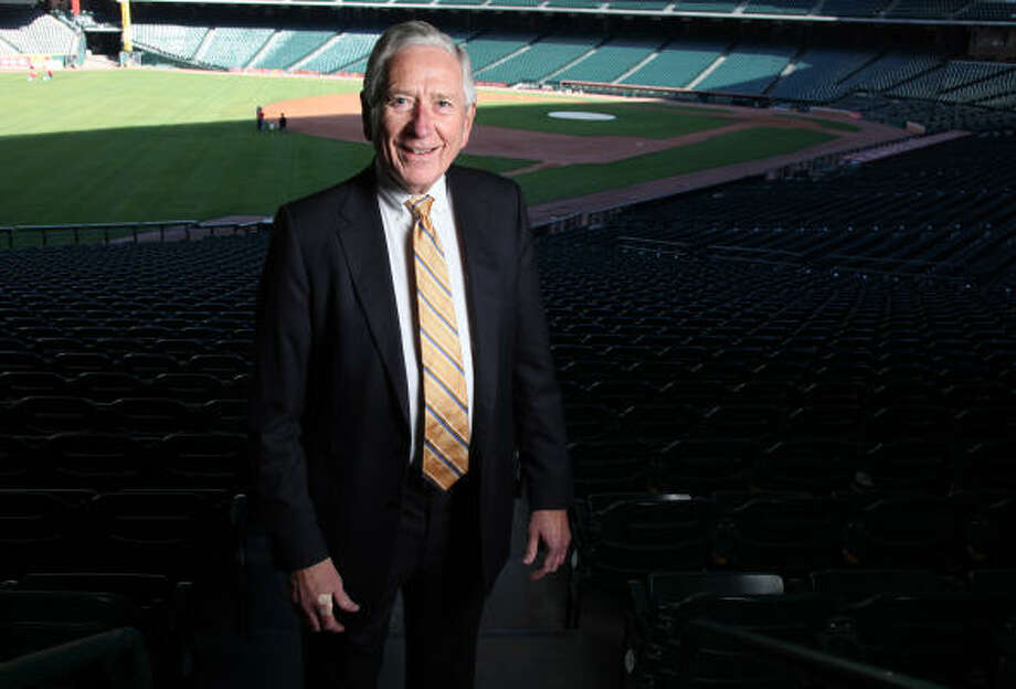 Temple native Drayton McLane purchased the Astros in 1993 and helped build Minute Maid Park. Photo: Mayra Beltran, Chronicle