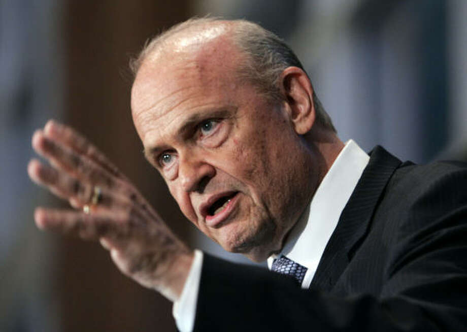 Former Tennessee Sen. Fred Thompson was in office from 1994-2003. Since his time in politics ended, Thompson has gone back to the stage and screen. Photo: Steve Helber, ASSOCIATED PRESS