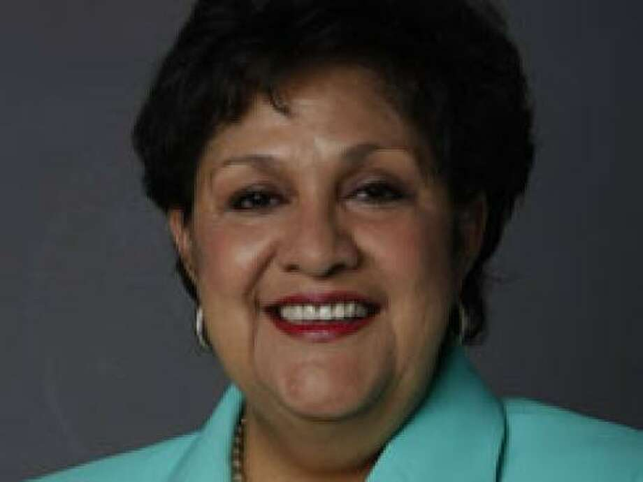 An investigation found that Yolanda Navarro Flores used her influence to direct work to her son's construction company. Photo: Julio Cortez, Chronicle File