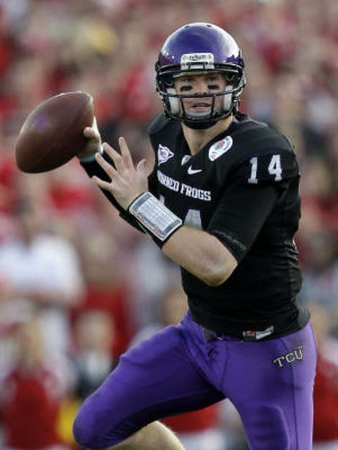 The Bengals selected Katy product Andy Dalton in the second round of the NFL draft on Friday. Photo: Jae C. Hong, AP