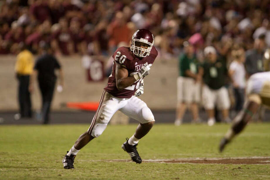 Bradley Stephens rushed for 328 yards over three seasons as a backup to Mike Goodson, Cyrus Gray and Christine Michael. Photo: Glen Johnson, Texas A&M Athletics