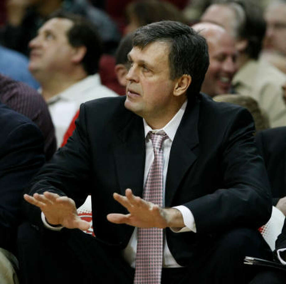 Kevin McHale had interim head coaching stints with the Minnesota Timberwolves in 2005 and 2008-09. Photo: Nick De La Torre, Chronicle