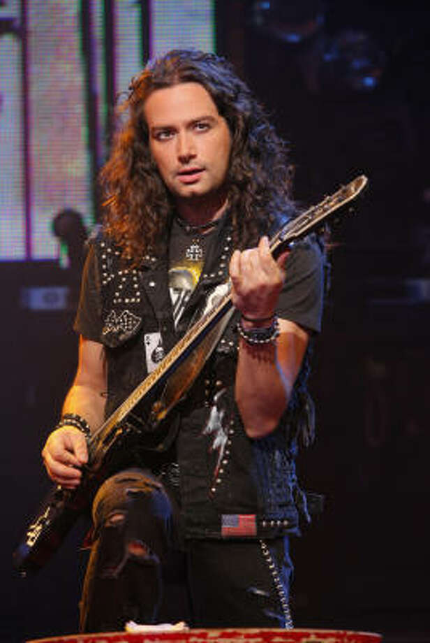 Constantine Maroulis is headed to Houston as part of the Rock of Ages tour. Photo: Joan Marcus