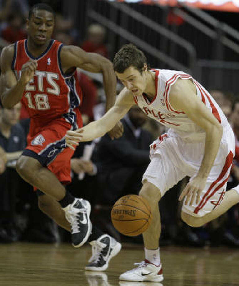 The Rockets are counting on new point guard Goran Dragic to contribute quickly. He had six points in 10 minutes against the Nets on Saturday night. Photo: Melissa Phillip, Chronicle