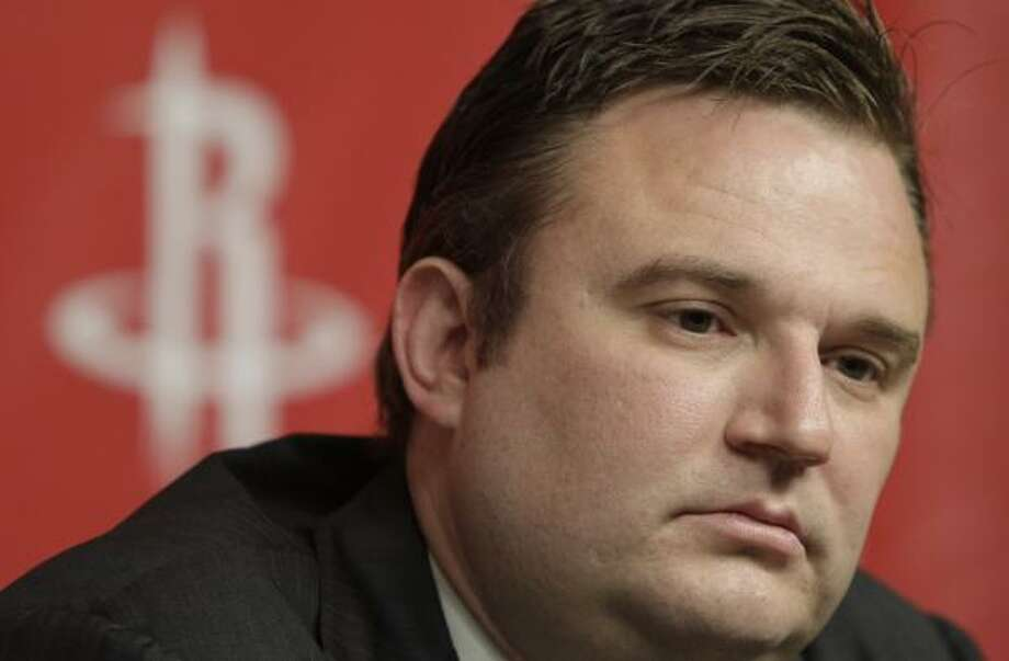 Rockets general manager Daryl Morey is taking a much different approach to find the team's next coach than he did when he hired Rick Adelman in 2007. Photo: Pat Sullivan, Associated Press