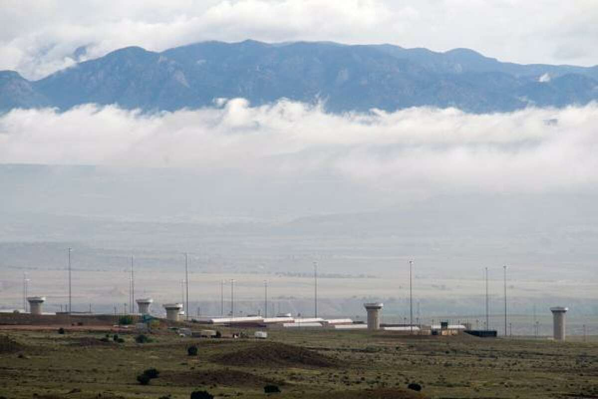 The sprawling high-security federal prison is located in the foothills of the Rocky Mountains near Florence, Colo.