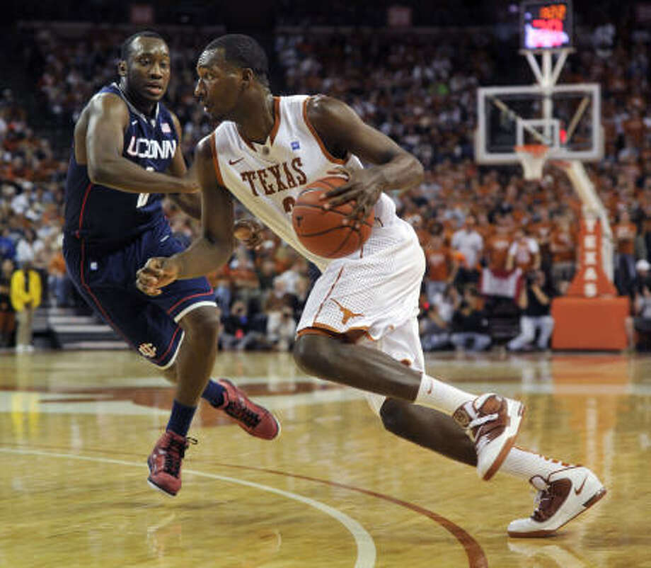 The maturation of Longhorns guard Jordan Hamilton boosts the hopes for an perfect Big 12 record. Photo: Michael Thomas, AP