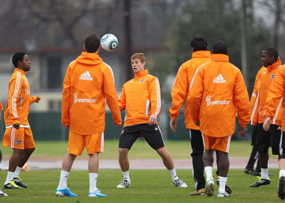 The Dynamo have suffered just one loss in preseason play. Photo: James Nielsen, Chronicle