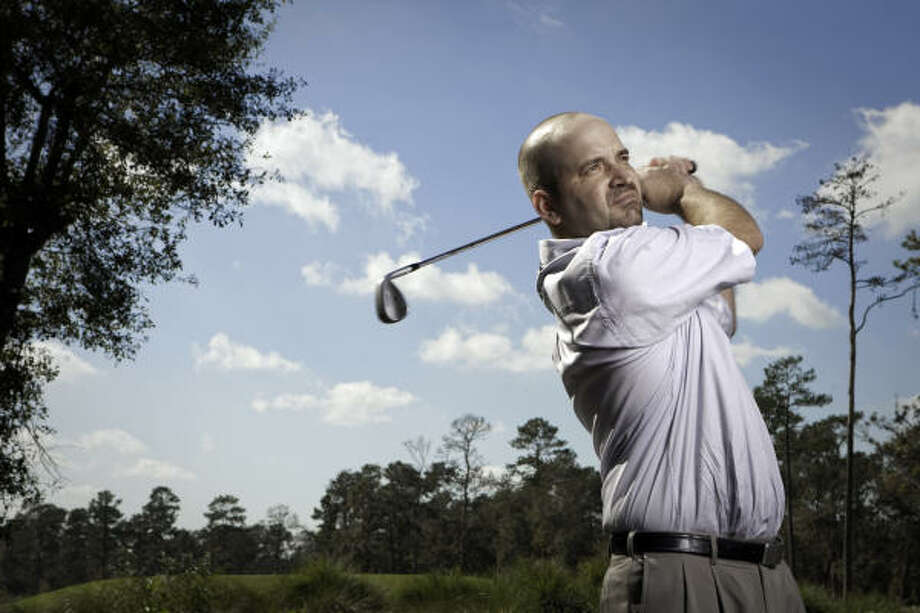 Bill Walker played collegiate golf at Stephen F. Austin Photo: TODD SPOTH, Chronicle File