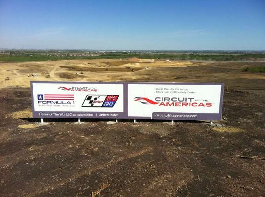 The 3.4-mile circuit track will have the capacity for 120,000 fans, with permanent structures designed for business, education, entertainment and racing. Photo: Circuit Of The Americas
