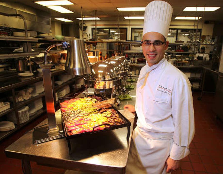 Maurizio Ferrarese is the executive chef at the Four Seasons Hotel's Quattro restaurant. Photo: James Nielsen, Houston Chronicle