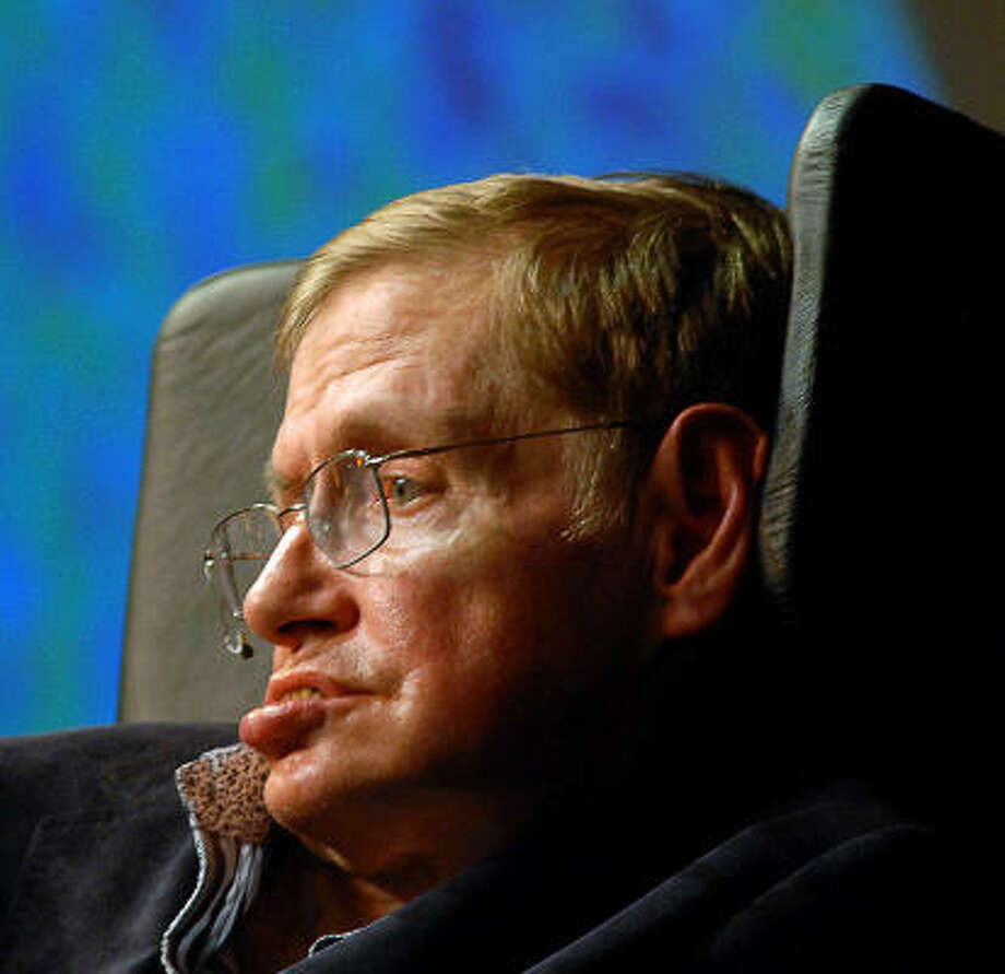 Famous physicist Stephen Hawking says the long-term future of the human race must be in space. Photo: Rodger Bosch, AFP/Getty Images File Photo