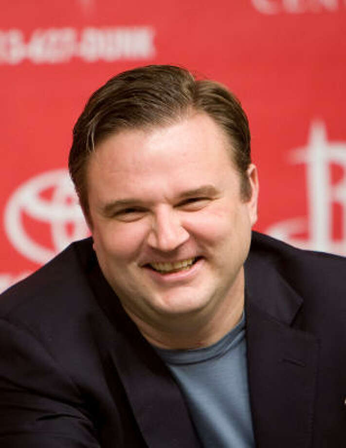 Rockets general manager Daryl Morey will have his work cut out for him in the offseason. Photo: Nick De La Torre, Chronicle
