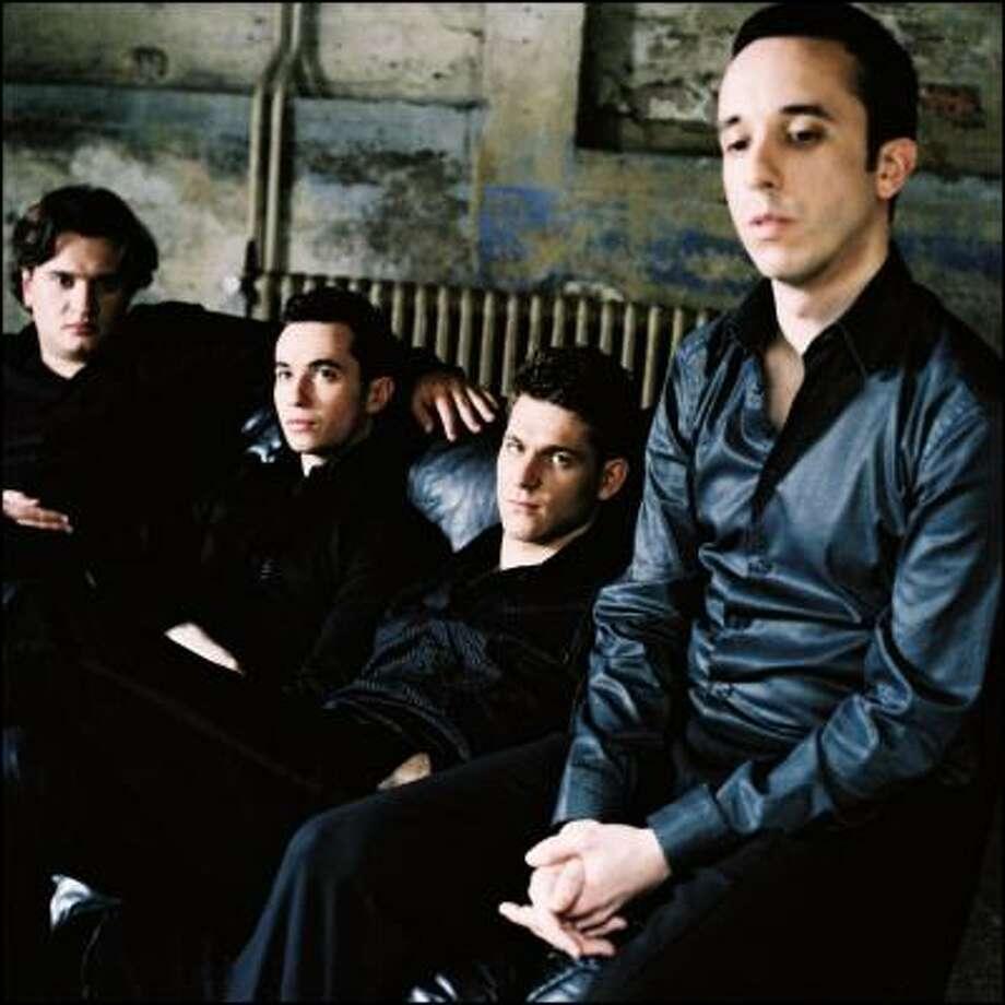 The Ebene Quartet has built a reputation, adding jazz and pop standards to their classical repertoire. Photo:  Da Camera
