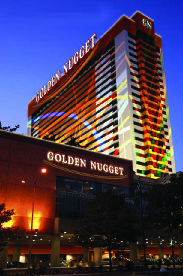 This rendering shows how the Atlantic City Golden Nugget will look after a $150 million renovation. Photo: Landry's Restaurants