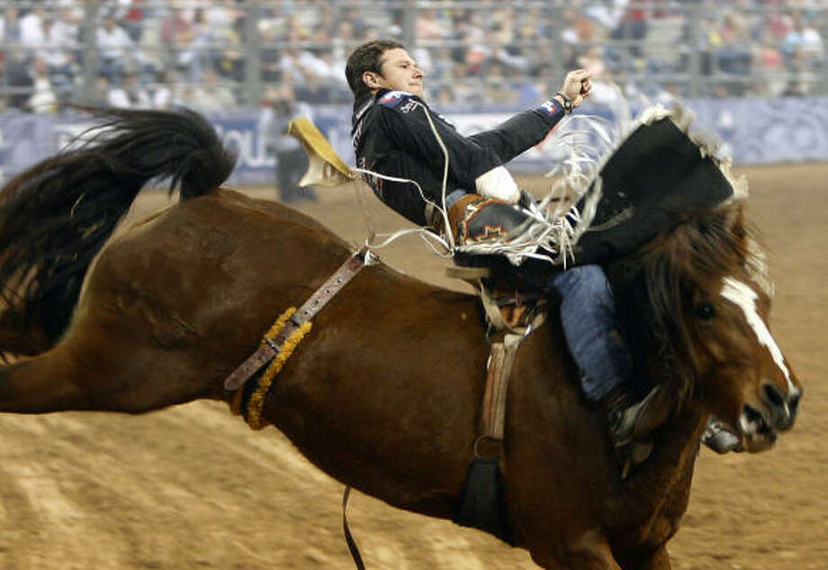 Clint Cannon of Waller earned his second series win in three years. Photo: Cody Duty, Chronicle