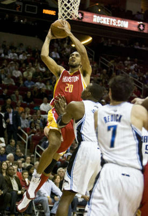 Forward Jared Jeffries appeared in only 18 games this season. Photo: James Nielsen, Chronicle