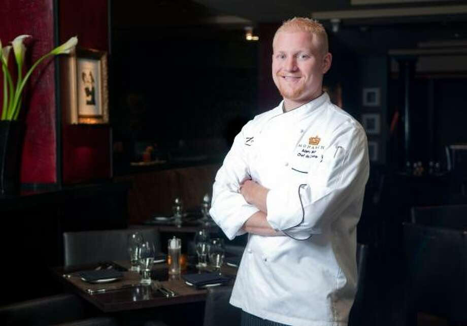 Adam West is the new chef at Hotel ZaZa. Photo: JULIE SOEFER