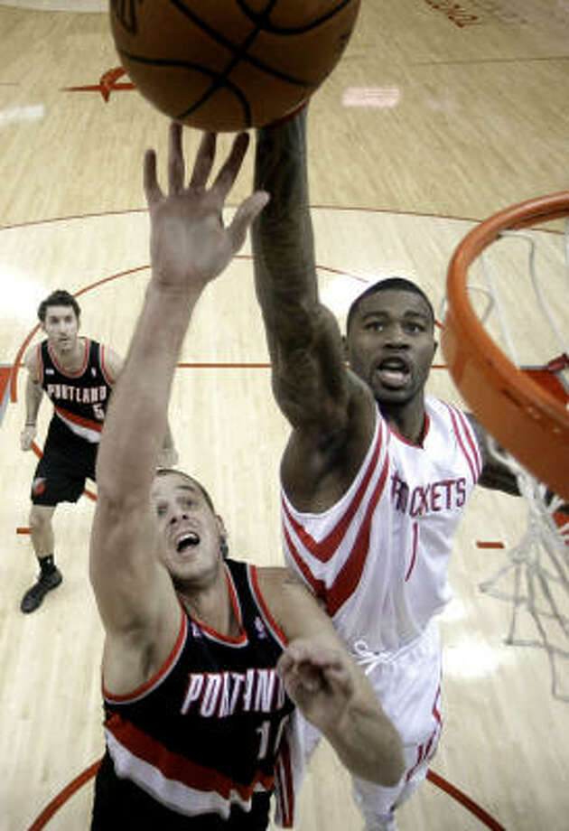 Terrence Williams has played in just two games with the Rockets, getting 14 minutes. Photo: David J. Phillip, AP