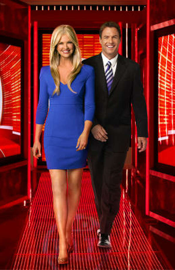 Nancy O'Dell joins Mark Steines as host of Entertainment Tonight. Photo: CBS