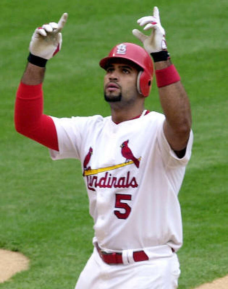 Albert Pujols Photo: JAMES A. FINLEY, ASSOCIATED PRESS