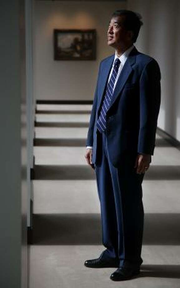 Albert Chao, CEO of Westlake Chemical Corp., says his company endured the recession by taking a focused and conservative approach to its business. Photo: Mayra Beltran, Houston Chronicle