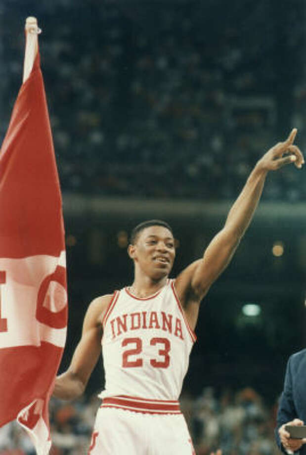 Keith Smart's unlikely journey from junior college walk-on to championship-game icon reached a crescendo in New Orleans in 1987 when he hit the game-winning shot for Indiana against Syracuse. Photo: AP