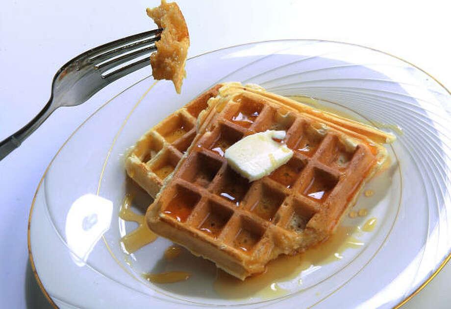 Leah's Light Waffles Photo: MAYRA BELTRÁN :, CHRONICLE