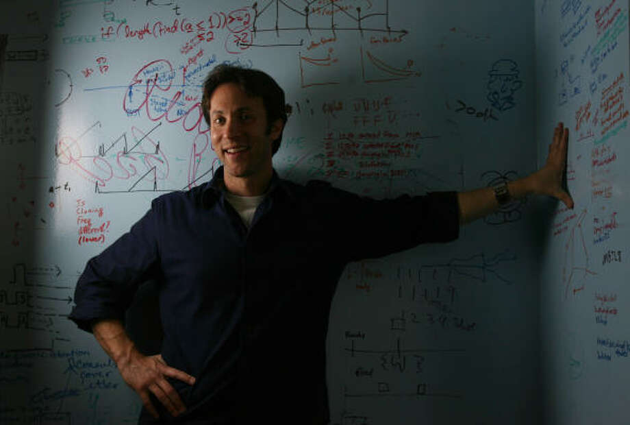 Baylor College of Medicine neuroscientist David Eagleman, seen here in 2009, has been awarded a fellowship from the John Simon Guggenheim Foundation. Photo: Mayra Beltran, Chronicle